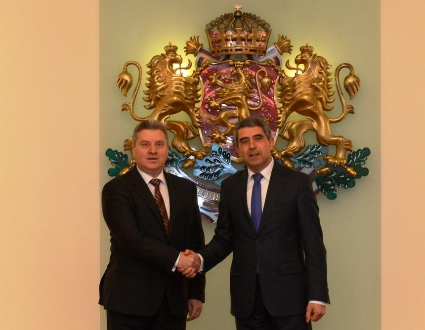 Ѓорге Иванов и Росен Плевнелиев
