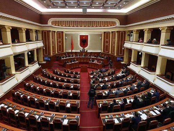 albanija parlament