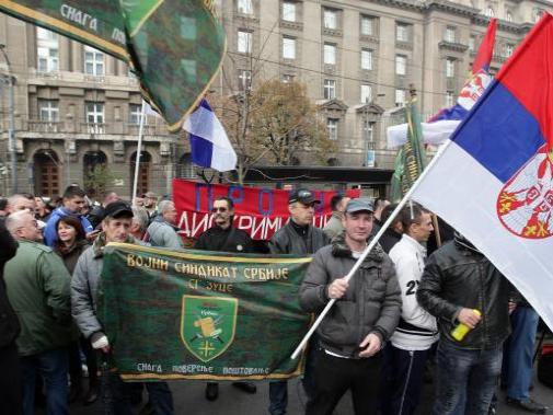 belgrad protest vojska