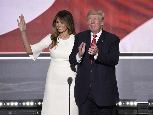 donald i melanija tramp, доналд и меланија трамп