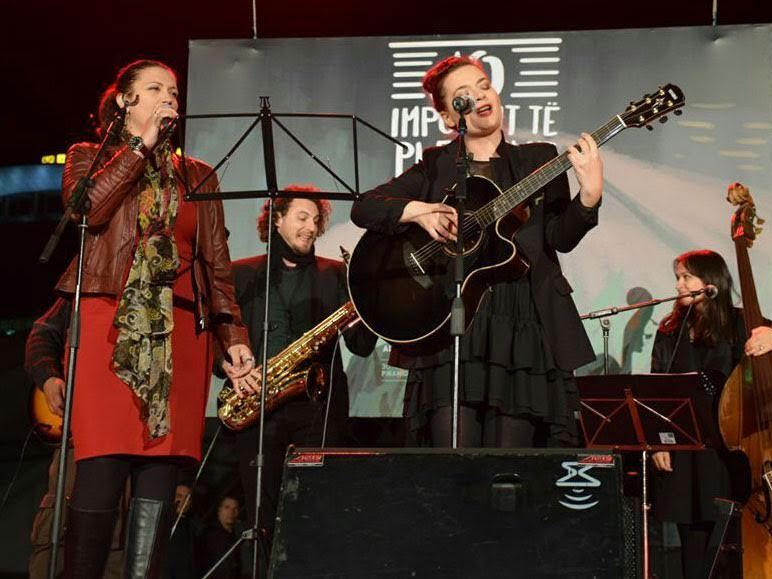 koncert Albanija