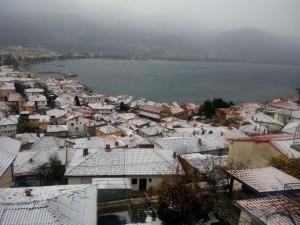 ohrid sneg