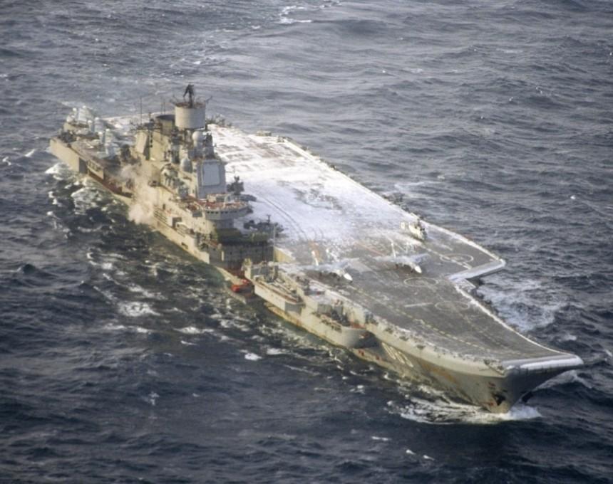 ruski brod Admiral Kuznjecov