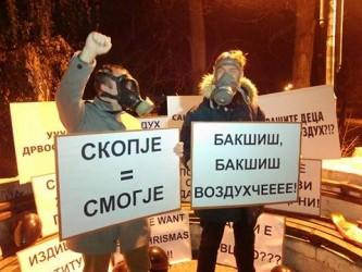загадување протест