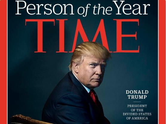 Donald Tramp licnost na godinata time magazin