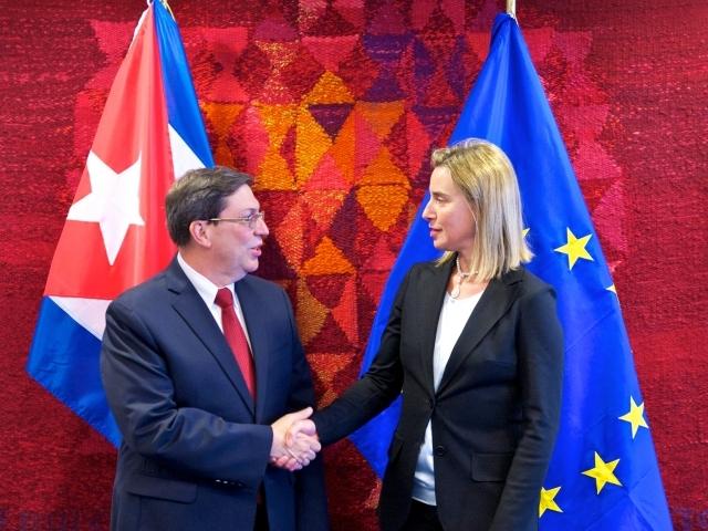EU Cuba Mogerini Parilja