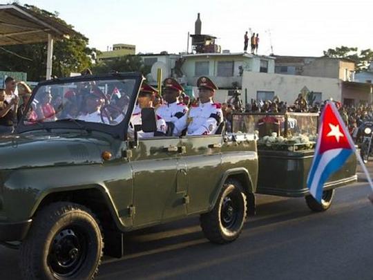 Fidel Kastro pogreb 2