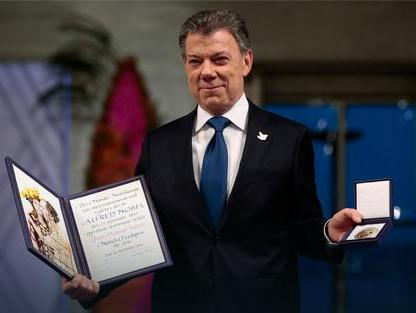 Сантос, Нобелова награда