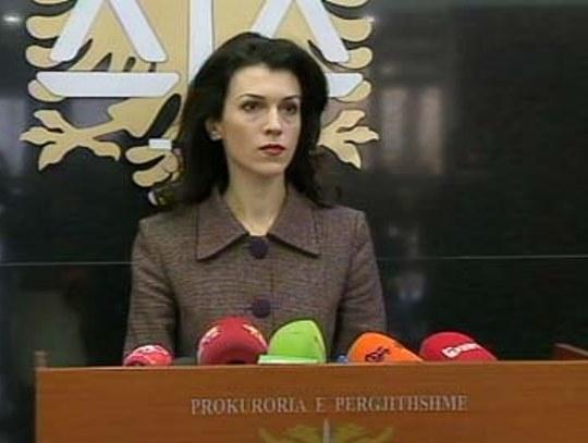 albanija obvinitelstvo portparolka