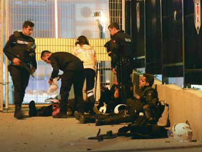povredeni policajci
