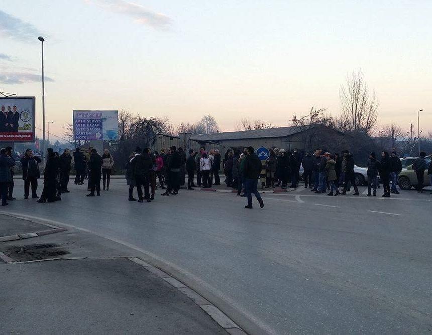 protesti za cist vozduh bitola