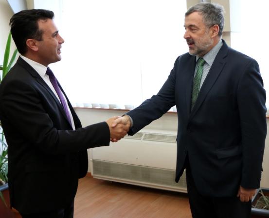 zaev polski ambasador