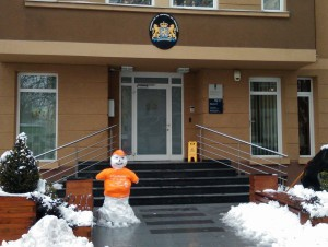 Холандска амбасада снешко
