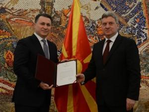Ivanov Gruevski mandat 9 januari 2017