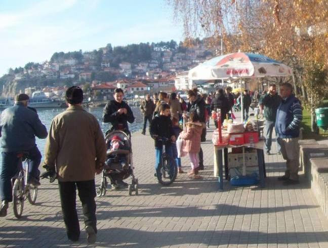 Ohrid 1 јануари