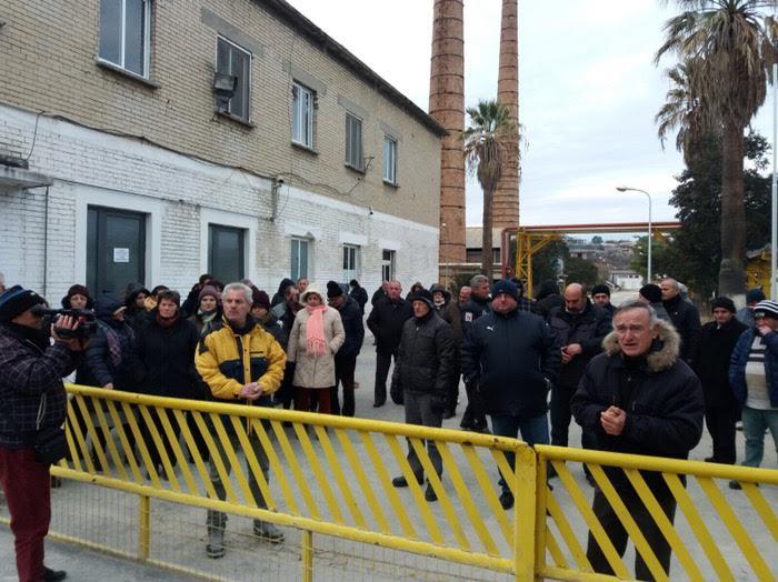 albanija protest rafinerija