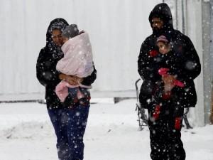 begalci grcija sneg