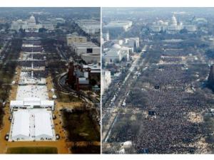 publika inauguracija Tramp Obama