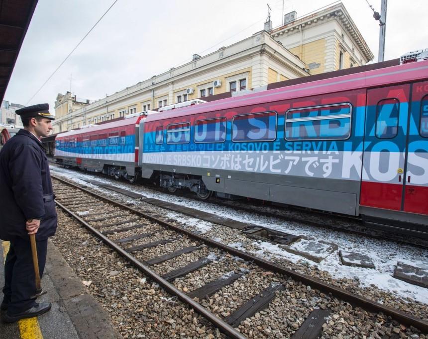 Srbija voz Kosovo