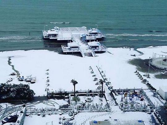 sneg Drac