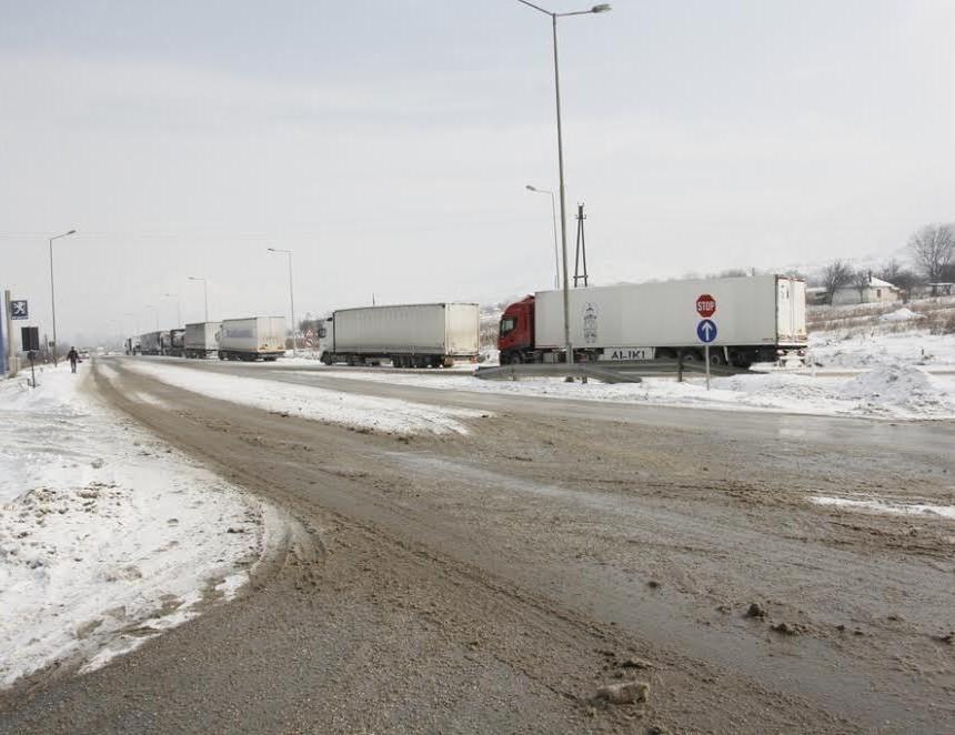 sneg zabrana tovarni vozila