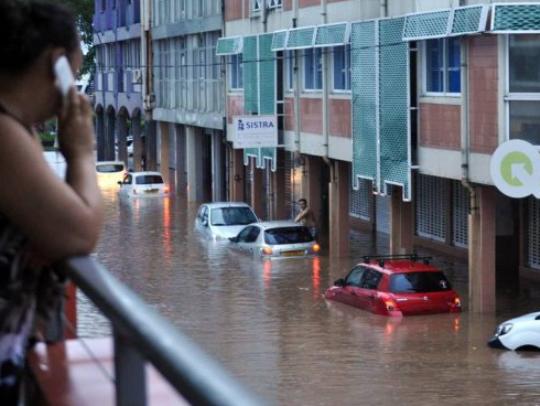 tahiti poplava