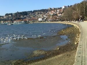 vodostoj Ohridsko ezero