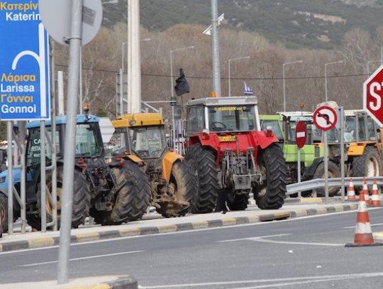 grcija farmeri blokada evzoni