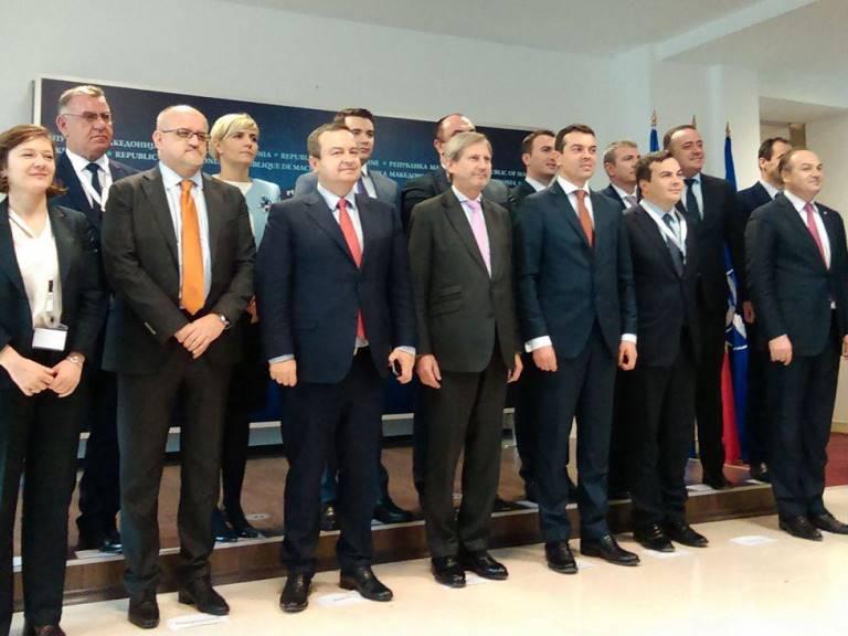 Ministerski sostanok, grupna 1