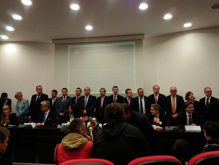 Ministerski sostanok, grupna
