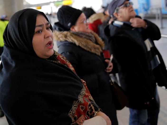 muslimani na aerodrom vo SAD