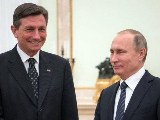 Pahor i Putin