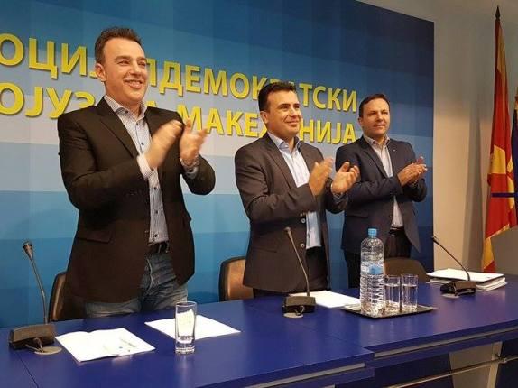 Zoran Zaev, Centralno pretsedatelstvo