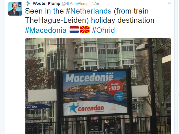plom tvit makedonija