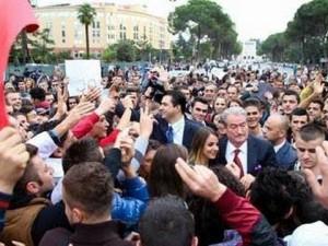 protest opozicija