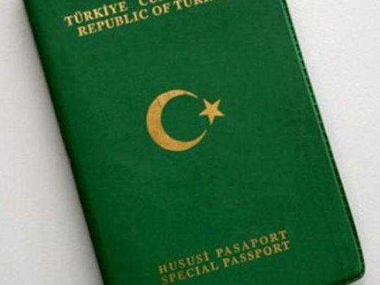 turski diplomatski pasos