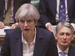 Tereza Mej, britanski parlament