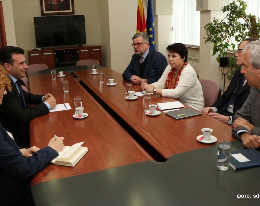 Zaev ambasadori