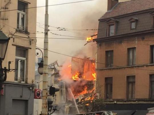 eksplozija Brisel