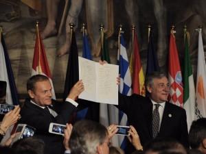 eu deklaracija rim potpisuvanje