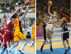 женска сениорска кошаркарска репрезентација на Македонија