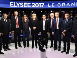 11 кандидати Франција