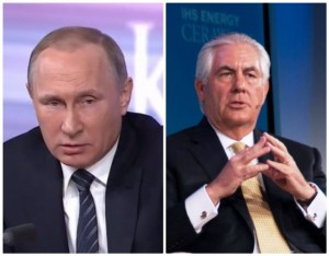 Putin Tilerson