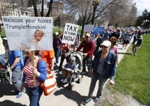 Трамп протести