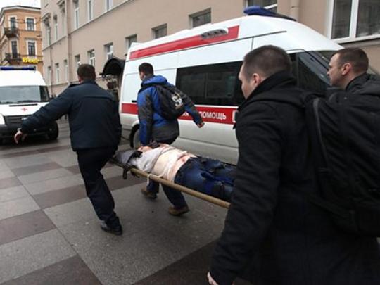 napad metro Sankt Peterburg