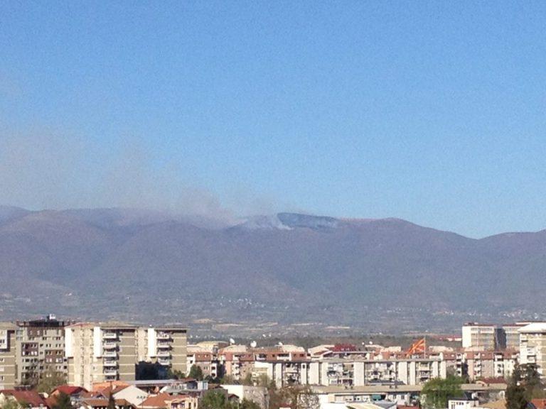 пожар Скопска Црна Гора