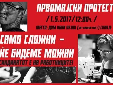 protest 1 maj