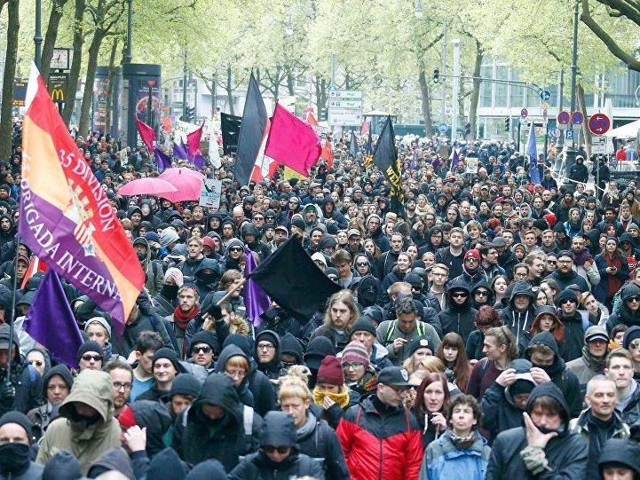 protesti Keln