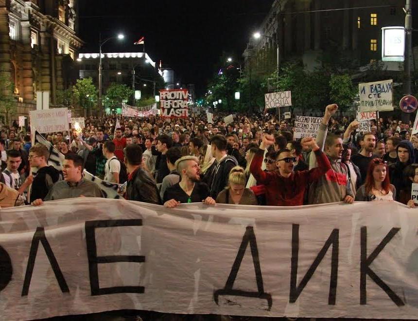 protesti srbija 2
