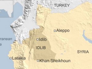 sirija napad so otroven gas